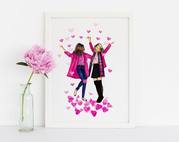 Featured listing image: LIMITED EDITION I Love You This Much Print