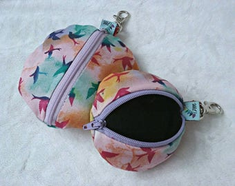 Pad Pods | Keychain | 2 sizes| you choose print- Pampered Shop Pads