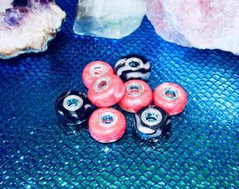 SWEET BEADS ~ Pandora Bead, Charm Bracelet, Accessory, Silver, Handmade ~ Gift