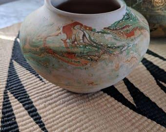 Vintage Nemadji Pottery Vase or Planter