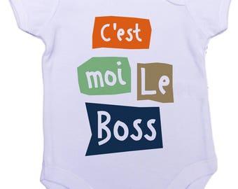 Onesie Bodysuit belongs to me the boss