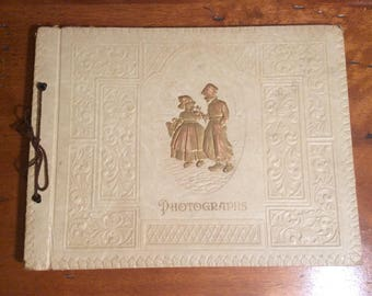 Vintage Harlich Photo Album~Antique Photo Album