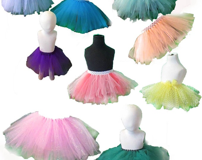 For Your Princess Trio Tutus w Tiara and Wand Dress Up Time Ready Gift!