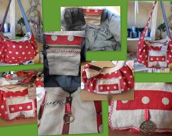 Bag cotton and linen