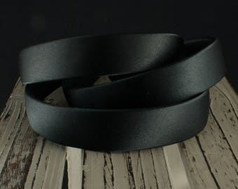 1 inch Headband Black Satin Covered Plastic,  Black Headband, Wholesale Headbands