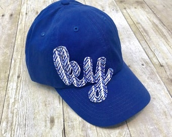 Kentucky State Love Raggy Patch Royal Blue Baseball Cap Hat