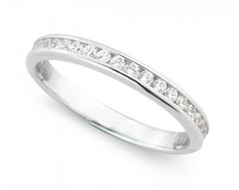 0.50ct Diamond Platinum Eternity Ring