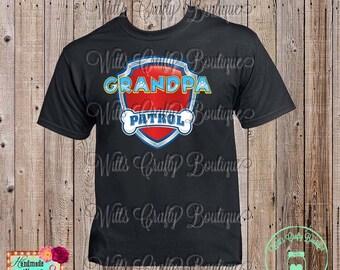 Grandpa Patrol Paw Patrol T-shirt