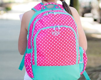 Wholesale Boutique Dottie Collection Backpack, Book Sack, Book Bag  Monogrammed