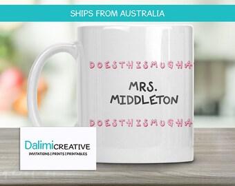 Teachers Mug - Teachers Mug - Teacher Appreciation Gift - End of Year Teachers Gift - Personalised Teachers Gift - Name on it!