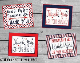 Obsessed image inside military thank you cards free printable