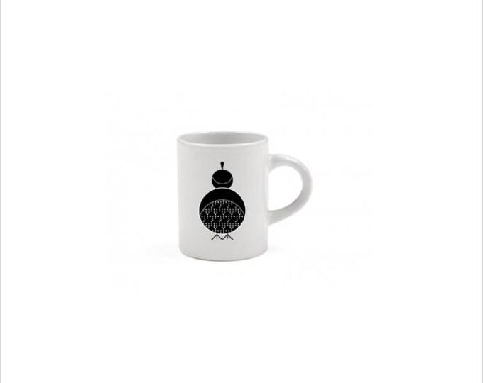 Quail Espresso Mug