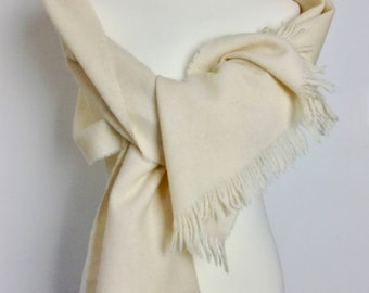 Wool Stole by Jaeger. Vintage