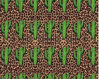 Cheetah, Cactus,  Craft vinyl HTV or Adhesive vinyl