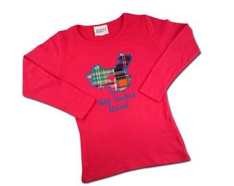 Girl's Sister China Adoption Shirt with Embroidered Name