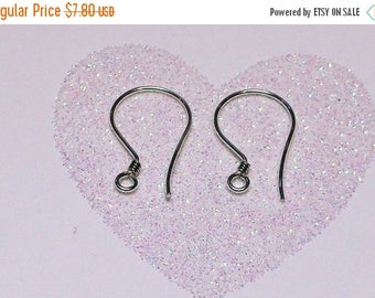 20% OFF Ten (10) Bali .925 Sterling Silver 18mm x 10mm Ear Wires with Coil #4001