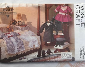 "Vogue Craft 8241 Doll Collection Victorian Clothes for Linda Carr Doll or 19"" Doll"
