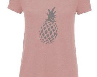 DIY Iron On Transfer Pineapple Print Heattransfer | Various colors & sizes available