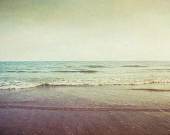 ocean photo print, photography print, home decor, large size wall art,water, sea photo print, waves beach coastal art