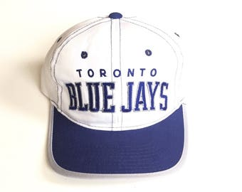 Vintage Toronto Blue Jays academy starter arch Snapback MLB Baseball Snap back hat cap Adjustable Twill One Size fits all adult unisex