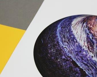 Art Print *AMETHYST*  A4