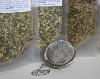 Organic Nourishing Tea Blend, Herbal Tea, Stinging Nettles, Marshmallow, Oatstraw, Herbal Infusion, Prenatal Nutrition