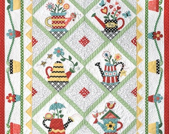 Sprinkled With Love Quilt Pattern Set with Accessory Fabric Packet