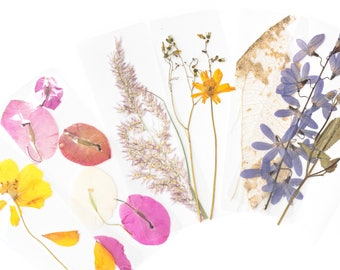 Pressed Flora Bookmarks