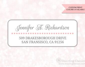 Return address labels (30) - Return address sticker - Adress labels - Address stickers - Wedding return address labels (AW014)