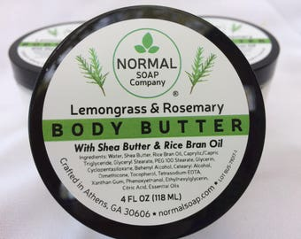 Body Butter featuring Shea Butter and Rice Bran Oil
