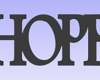 Large Hope sign,Hope wood word,religious word art, Religious signs, spiritual signs, inspirational signs,Hope plaques,aged religious signs,
