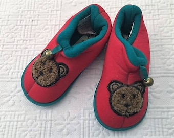 Baby Bear Soft Slippers