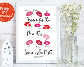 hen party guest book, hen night memories, bachelorette party guest book, hen night book, hen night gifts, personalised hen party guest book
