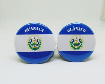 Guanaco/ Guanaca pins -El Salvador pin, latinx pins, central america