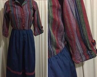 Vintage shirt dress size s/m