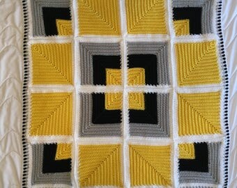 A Light in the Darkness Crochet Quilt
