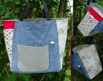 Large tote pattern - Atout coeur