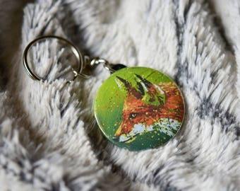 A Fox keychain