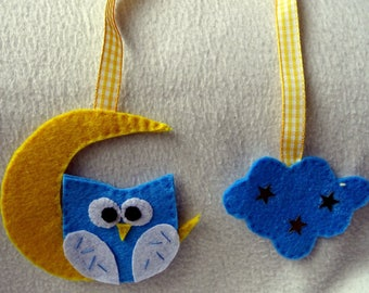 OWL bookmark in the Moonlight