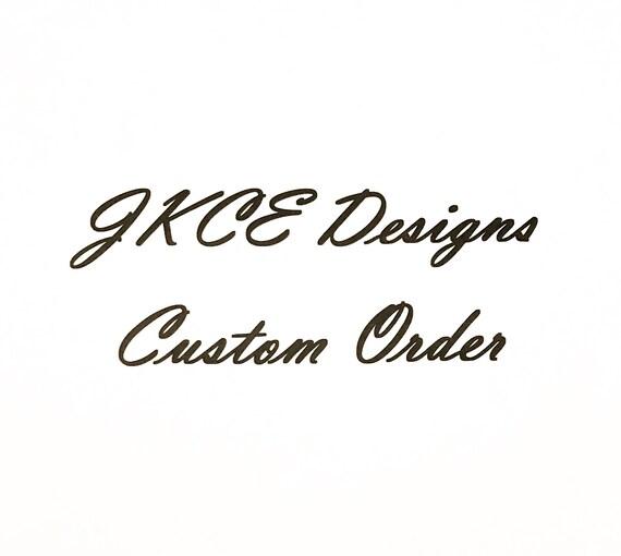 Custom Order for Judith