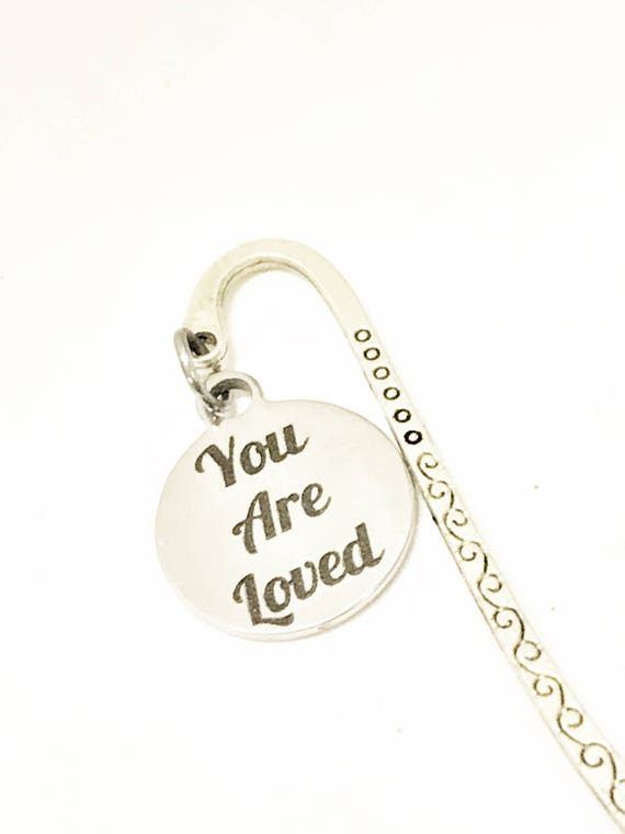 Love Gifts, You Are Loved Bookmark, Christian Love Gifts, Planner Gifts, Loved Reminder, Daughter Gifts, Daughter Valentine Gift, Wife Gifts