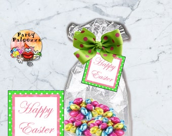 Printable Happy Easter tag