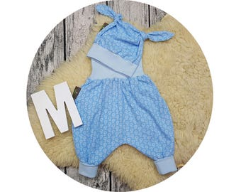 Newborn gift, harem trousers, harem pants, pants, baby pants, baby, Mitwachsen pants, Cap, node beanie baby set, flowers, flower, flowers