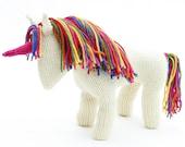 Unicorn Knitting Pattern (UK) • Pony Knitting Pattern • Rainbow Unicorn Pattern • Unicorn Toy Pattern • Toy Unicorn Patterns • diy unicorn