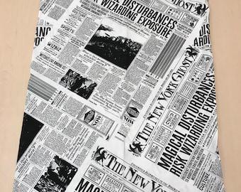 Harry Potter Newspaper print Pillowcase