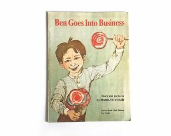Ben goes into business - Marilyn Hirsh, 1970s scholastic book