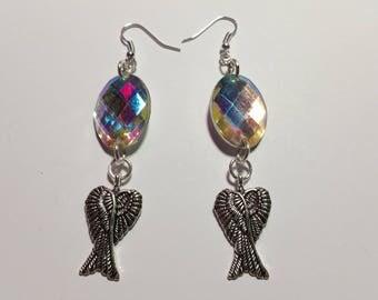 """Earrings """"Color Wings"""""""