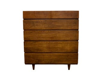 American of Martinsville Mid Century Highboy Dresser