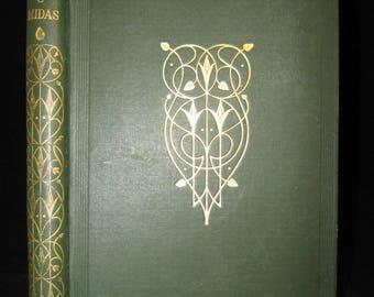 Proserpine & Midas by Mary Shelley Mythology Drama 1922 Antique Book