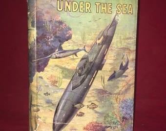 20,000 Leagues Under the Sea by Jules Verne Vintage 1920s Book